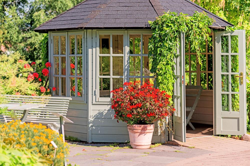 abri pour jardin