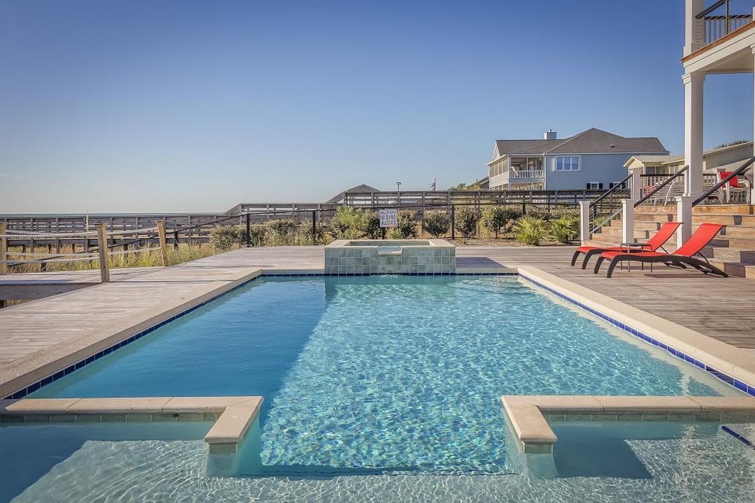 piscine ambiance festive