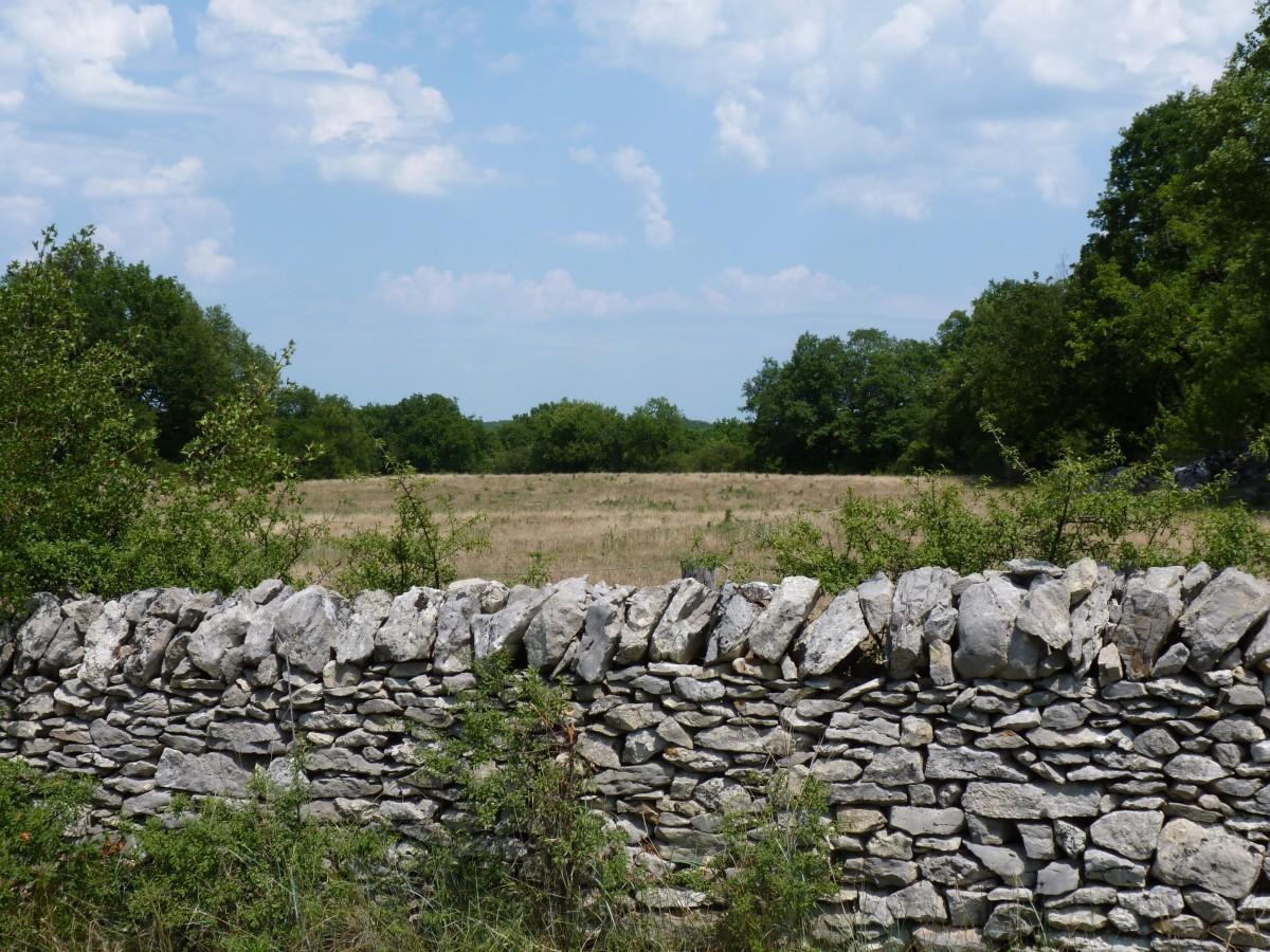 muret pierres