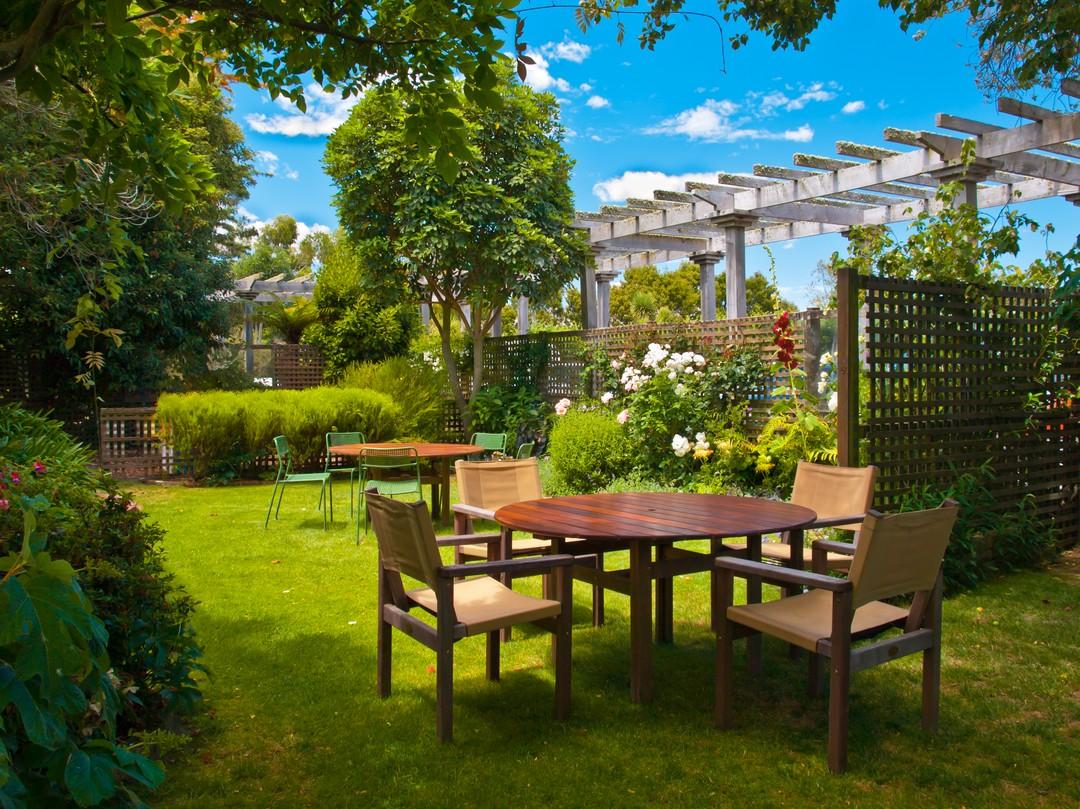 materiaux mobilier jardin