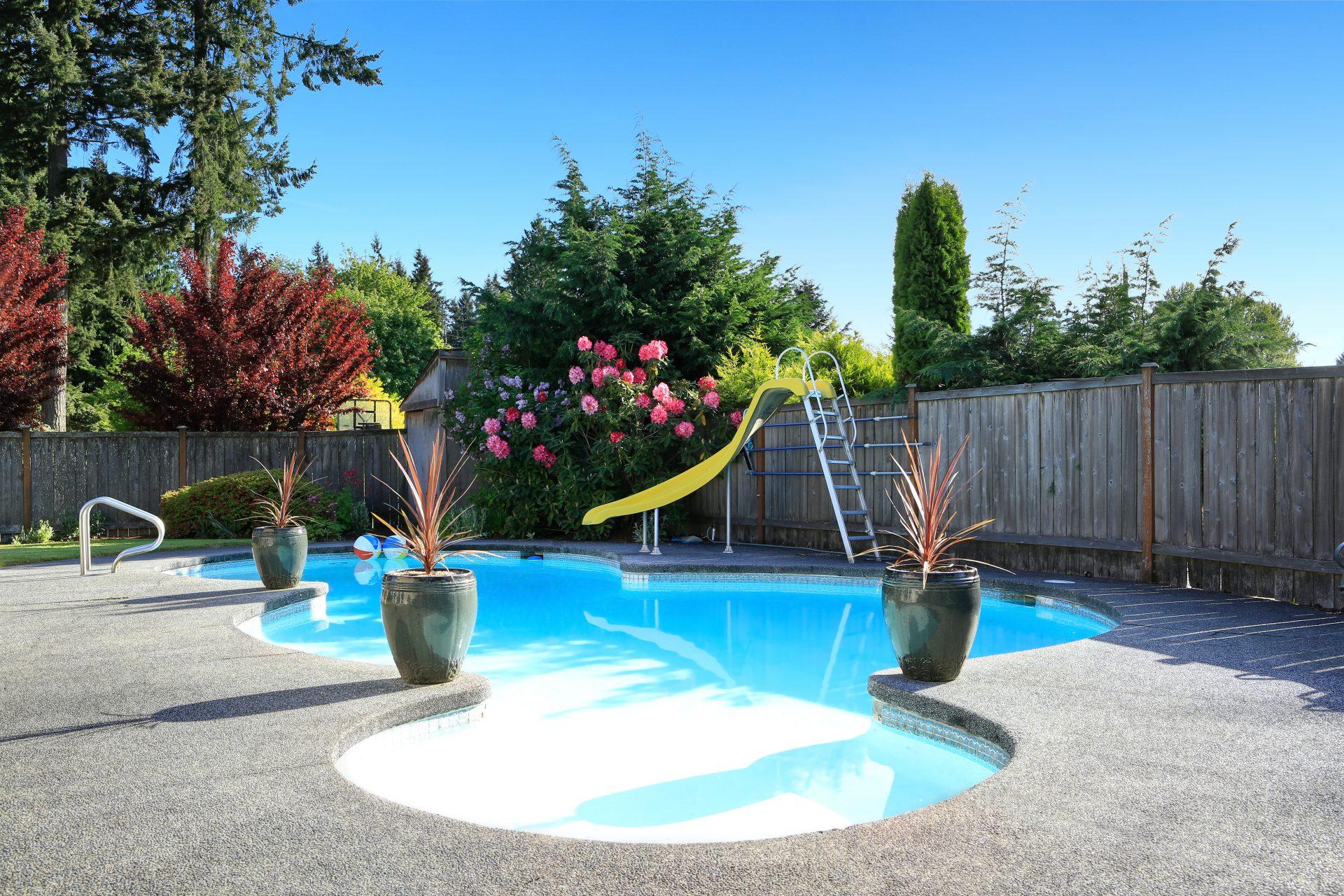harmonie piscine jardin
