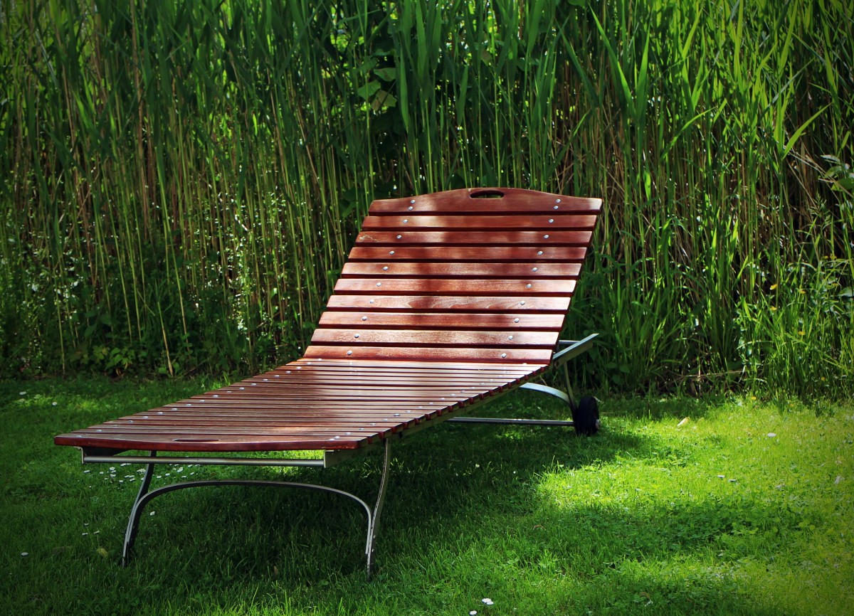 mobilier jardin bois