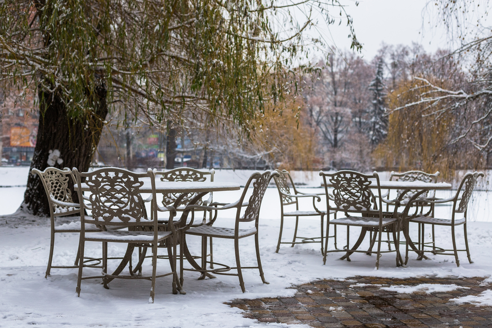 protection mobilier hiver