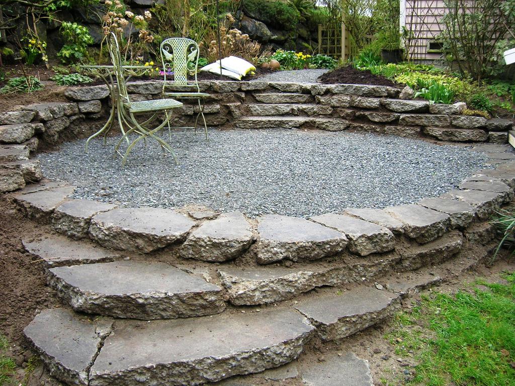 avantages terrasse en pierre